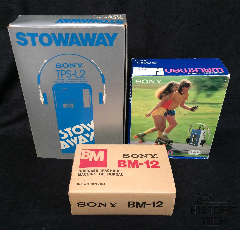 Anatomy of a Tech Icon (#1): 1st Sony Walkman - historictech